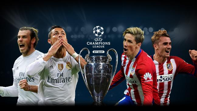Agen Bola Online - Real Madrid vs Atletico Madrid